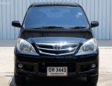 2011 Toyota AVANZA 1.5 E  รถยนต์มือสอง