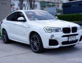 BMWX4 X4 Xdrive2.0d M Sport ดีเชล  ปี2017