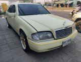 Benz C220 2.2 W202 Elegance Sedan AT ปี 1994 สีครีม