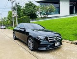 2017 Mercedes-Benz E350 AMG Avantgarde รถเก๋ง 4 ประตู