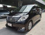 2014 Toyota ALPHARD 2.4 V  สีดำ สวยมาก