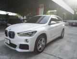 2017 BMW X1 sDrive18d Msport สีขาว มือแรก วิ่งน้อย มีBSI