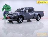 1L-137 Mitsubishi Triton 2.4 MEGA CAB โฉมปี (05-15) GLX เกียร์ MT สีเทา ปี 2011