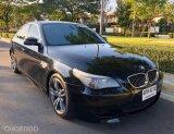 BMW 525I E60 LCI Minor Change เกียร์ไฟฟ้า ชุดแต่ง M5 ทั้งคัน สีดำ สวยดุดันเงางาม ปี 2009
