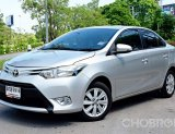 2016 Toyota VIOS 1.5 E รถเก๋ง 4 ประตู รถมือเดียวป้ายแดง ไม่เคยทำสีแม้แต่ชิ้นเดียว