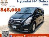Hyundai H-1 Delux ปี 16 สีดำ