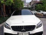 Mercedes Benz C43 amg ปี18 fulloption รถออกศูนbenz thailand ใช้งานน้อยมาก