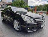 2012 Mercedes-Benz E250 AMG รถเก๋ง 2 ประตู