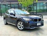 ⚡⚡สุดยอดความหรูหรา ประหยัดน้ำมันสุดด BMW X 1  2.0D ดีเซล idrive สีดำ ภายในส้ม ปี 12