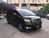 TOYOTA alphard 2.5 sc package ปี 2017แท้