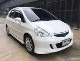 ปี2007จดปี2008 honda jazz 1.5 auto สีขาว