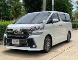 2015 Toyota ALPHARD 2.5 G รถตู้/MPV