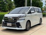 2015 Toyota VELLFIRE 2.5 Z G EDITION รถตู้/VAN