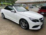 Mercedes #Benz #E200 AMG cabriolet ปี 2015