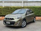2014 Nissan MARCH 1.2 E รถเก๋ง 5 ประตู