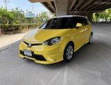 2018 MG3 1.5 D สีเหลือง มือเดียว รถสวยน่าใช้ พร้อมใช้งาน