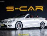 2011 Mercedes-Benz E200 CGI Sport รถเปิดประทุน
