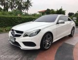 2014 Mercedes-Benz E200 AMG  Dynamic รถเก๋ง 2 ประตู