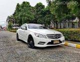 จองให้ไว Benz E200 Coupe รถมือเดียว ไมล์6หมื่นแท้!!ออฟชั่นเต็ม