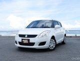 📌Suzuki Swift GL 1.25L CVT สีขาว เกียร์อัตโนมัติ ปี 2013