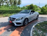 Mercedes Benz รุ่น E 200 AMG Cabriolet W207       หลังคาผ้าใบ ปี 2013