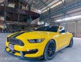 Ford Mustang 5.0 GT สีเหลืองดำ