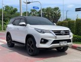 🚩TOYOTA FORTUNER 2.8 V 4WD TRD ปี 2017 สีขาว