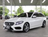 2015 MERCEDES BENZ C300 BLUETEC HYBRID  ESTATE AMG