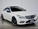 🚘 BENZ E250 Coupe 1.8 CGI AMG (W207) สีขาว-ดำ ปี 2011🚘