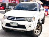 Mitsubishi Plus Triton Puls Cab M/T ยกสูงจากโรงงาน ปี 2012 สีขาวมุก