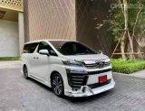 จองด่วน Toyota Vellfire รุ่น 2.5ZG Edition 2019จด20 รถใหม่สวยมากอย่าพลาดออฟชั่นล้นๆ
