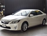 Toyota Camry 2.5 HV premium ปี 12 รุ่น Top สุด ตัว Premium มีแผง Control ด้านหลัง จอ Navi ยางเพิ่งเปลี่ยนมาใหม่