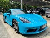 Porsche cayman 718 ปี17 maxico blue สวยๆ