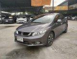 Honda Civic 1.8E สีเทา ปี 15 ปีแท้ ไม่น้อย 77,000 km.  ราคา 465,000 บาท ดาวน์ 0 บาท ผ่อนเพียง 7900 บาท