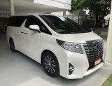 2015 Toyota ALPHARD 2.5 G  รถครอบครัว ระดับ Premium