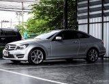 Benz C Coupe 1.8 ปี 2013 สีบรอนซ์เงิน