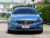 VOLVO S60 D4 (2017) สีฟ้า ภายในสีน้ำตาล