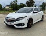 Honda CIVIC 1.8 EL i-VTEC AT ปี2016 สีขาว รถสวย พร้อมใช้วาน