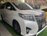 2016 Toyota ALPHARD 2.5 Hybrid E-Four 4WD รถตู้/MPV