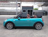 Mini Cooper S Cabriolet 2.0 F57 ปี16จด17 รถบ้านมือเดียวสวยจัดสีเดิมตัวรถไม่มีชน