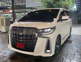 2020 Toyota ALPHARD 2.5 S C-Package รถตู้/MPV รถออก Premo Auto, Warranty 3 ปี/60,000 km