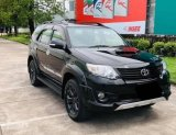 2013 Toyota Fortuner 3.0 TRD Sportivo 4WD มีเครดิตหรือไม่ทีก็ฟรีดาวน์ วิ่งน้อย เพียง 89,xxx km
