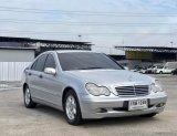 2003 Mercedes-Benz C200 Kompressor Elegance รถเก๋ง 4 ประตู