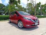 NISSAN NOTE 1.2 VL A/T ปี2018 สีแดง