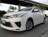 Toyota Yaris 1.2G มือเดียว เดิมบาง ประวัติศูนย์ ไม่แก๊ส เบาะหนัง ยางใหม่ พร้อมใช้ ฟรีดาว์น