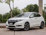 จองให้ทัน HONDA HR-V 1.8 EL เกียร์ออโต้ สีขาว ปี2015 รถสวยออฟชั่นเต็ม