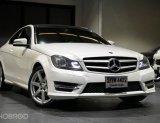 2013 Mercedes-Benz C180 Coupe รถศูนย์ ไมล์น้อย 63,xxx km.
