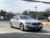 BMW 520i(F10) Luxury 2013 วิ่งแปดหมื่นโล สภาพป้ายแดง ราคาถูก