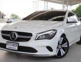 2017 BENZ CLA 200 1.6 VRBAN A/T สีขาว