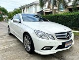 Mercedes-Benz E200 CGI Sport Coupe AMG ปี2010 จด 2011